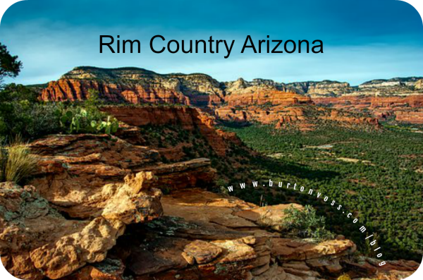 A view of Arizona's Rim country.